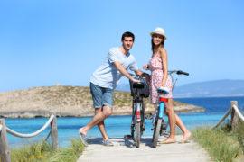 formentera in bici o a piedi
