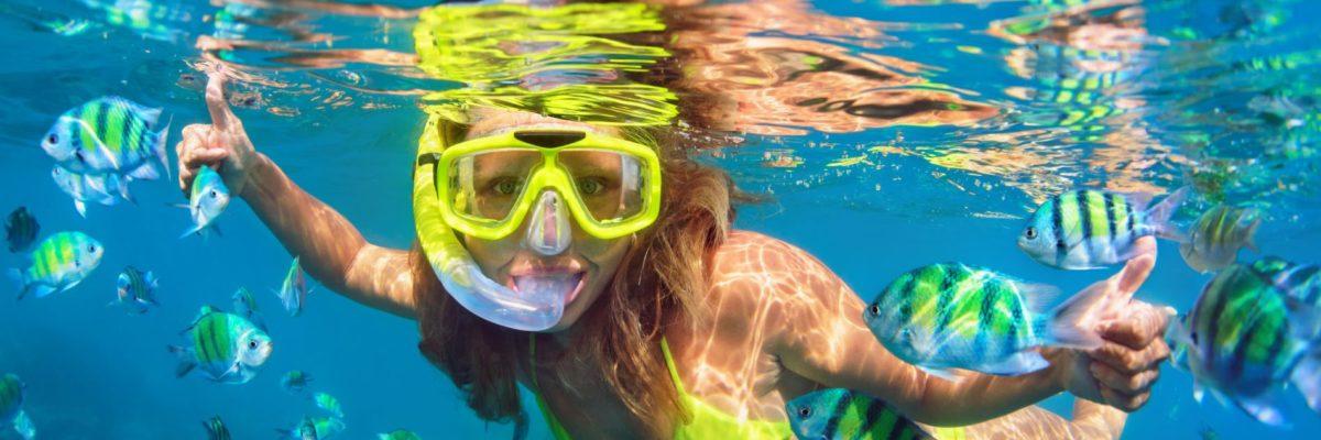 Fare snorkeling a Formentera