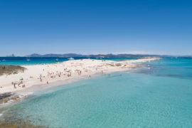 spiaggia di illetes